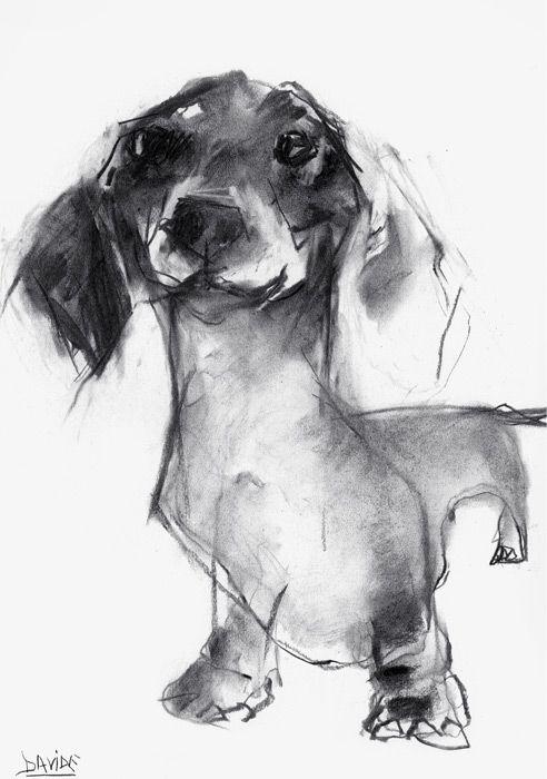 Wonderful charcoal sketch by Valerie Davide