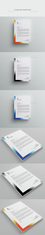 Business Letterhead A4 Template PSD