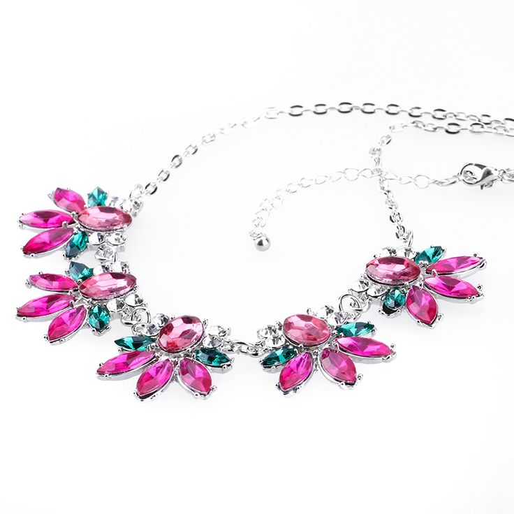Find More Chain Necklaces Information about 2017 steampunk necklace fashion elegant sweet candy pink flowers gems lattice spring collar necklace & pendants choker for Women,High Quality choker vintage,China choker pearl Suppliers, Cheap pendants for jewelry making from Yiwu zenper accessories crafts co.,ltd  on Aliexpress.com