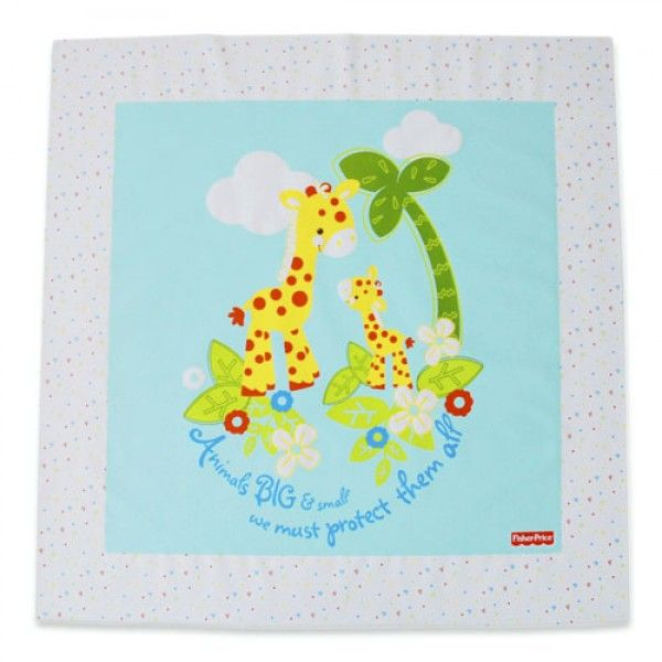 The Fisher Price Precious Planet Splash Mat protects your floors and surfaces from any spills or accidents.  http://www.babysecurity.co.uk/fisher-price-precious-planet-splash-mat.html
