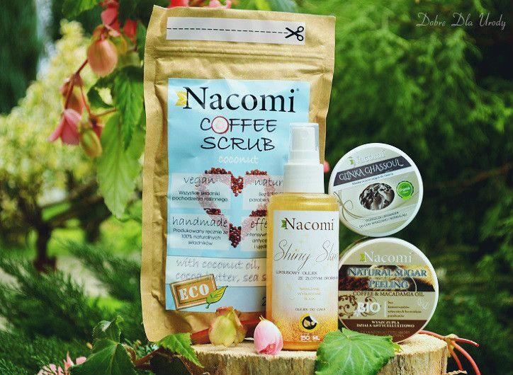 Na horyzoncie pojawiło się słoneczko, a wraz z nim nowości Nacomi kosmetyki naturalne - w sam raz do domowego SPA na jesienne, długie wieczory :) Lubicie kosmetyki Nacomi? Więcej wspaniałości na http://www.detal.nacomi.pl/  Recenzja za jakiś czas na blogu...