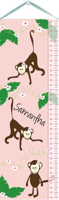 Miss Monkey Growth Chart :: For That Occasion