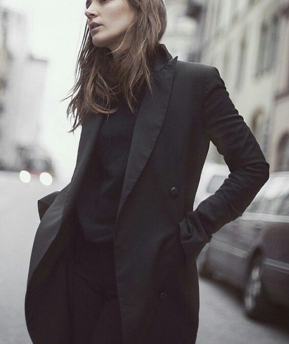 I like longer traditional jackets.