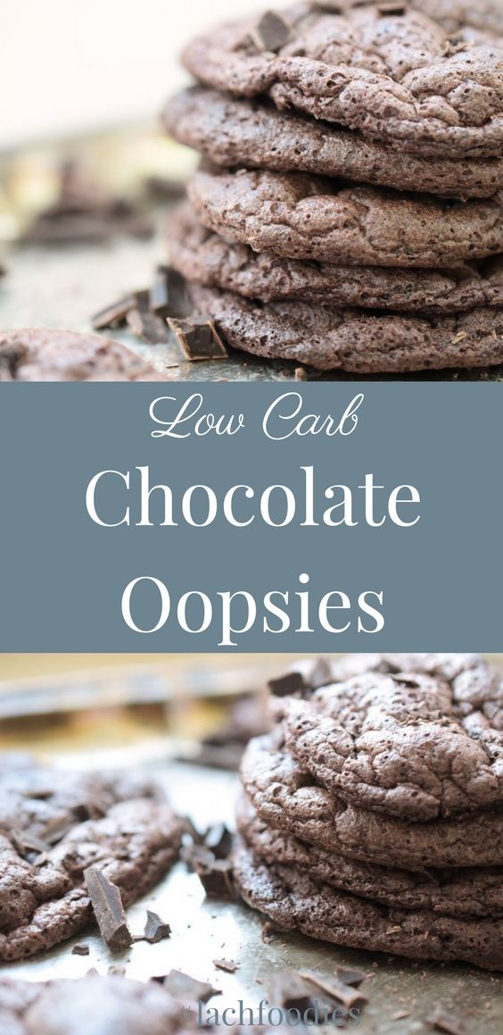 Chocolate oopsies - low carb. Schokoladen-Oopsies - Wolkenbrot ohne Kohlenhydrate.  ........... low carb, lc, lchf, low carb süß, zuckerfrei, sugar free, glutenfrei, gluten free, low carb Süßigkeiten,