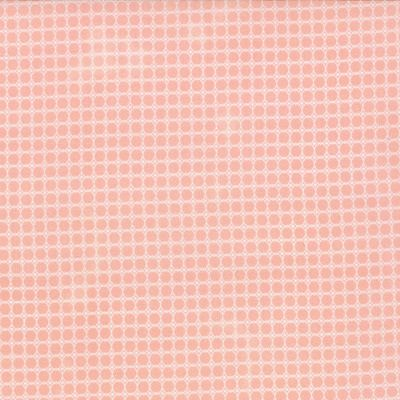 Story Book - Chain texture in Peach (13120 16) // Juberry Fabrics