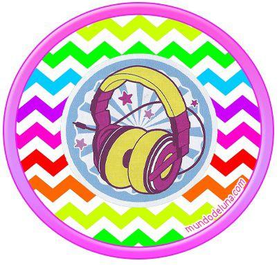 Etiquetas de soy luna stickers de soy luna toppers soy for Stickers infantiles