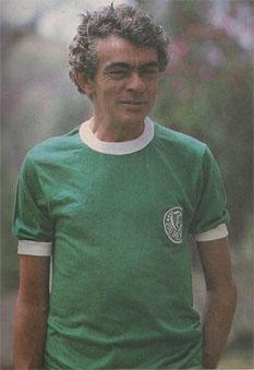 Chico Anysio humorista e fã do Palmeiras.
