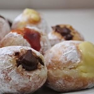 Receita de Donuts recheado