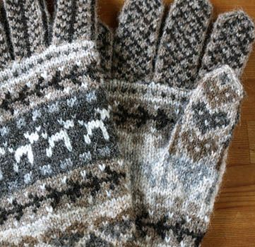 591 best Wanten / Mittens, Fair Isle. images on Pinterest | Knit ...