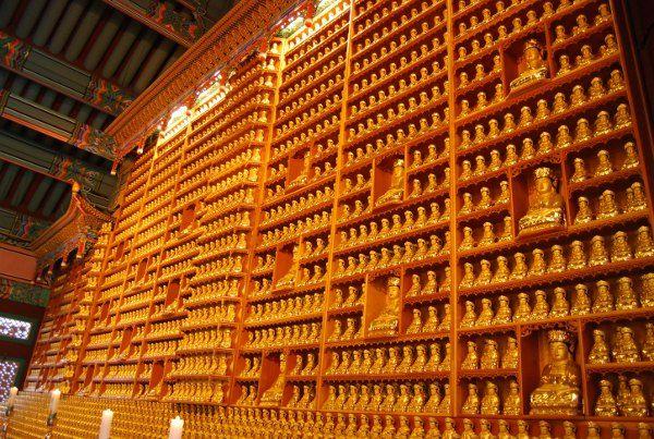 Bongeunsa, el templo budista de Gangnam en Seúl