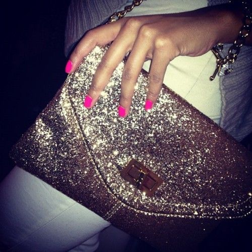 Who doesn't love a little glitter?
