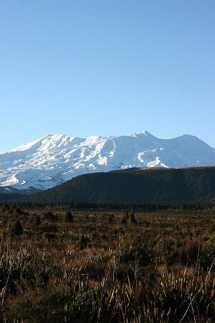 Mount Ruapehu, North Island, New Zealand, By Abaconda