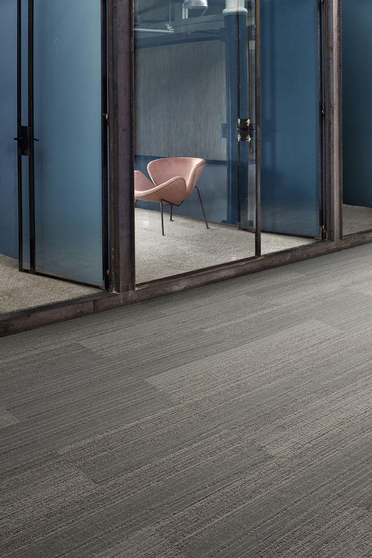 Walk the Plank, carpet tiles, Interface, pink chair