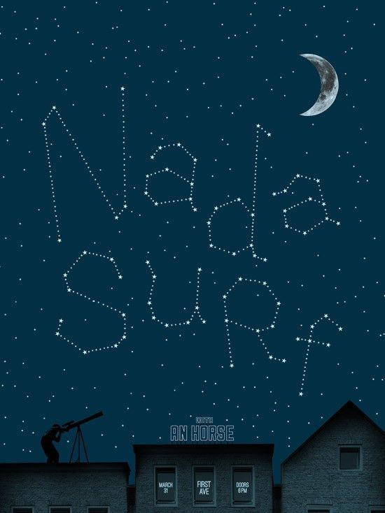Nada Surf - First Avenue Gig Poster