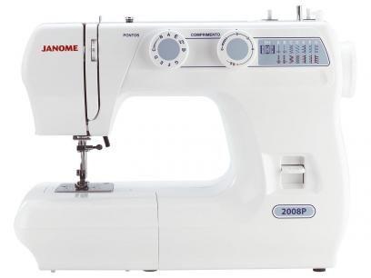 Máquina de Costura Janome - 2008P com as melhores condições você encontra no Magazine Paulorbvianna. Confira!