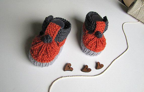 Stivaletti bambino a maglia maglia bambino ragazzi di MiaPiccina