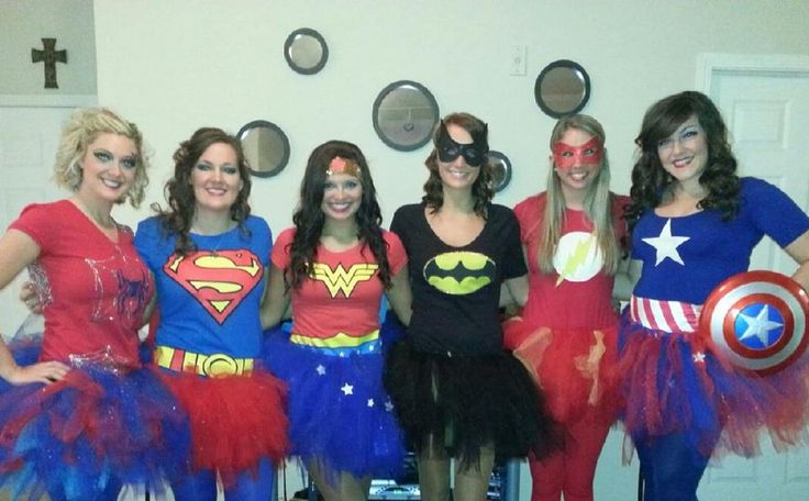 Super heroes for Halloween