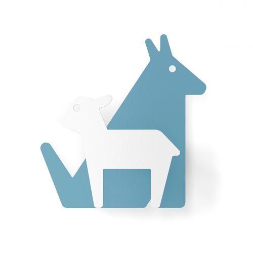 #Appendiabiti la fontaine ''''wolf&lamb''''  ad Euro 24.90 in #Appendiabiti idee regalo #Casa e giardino