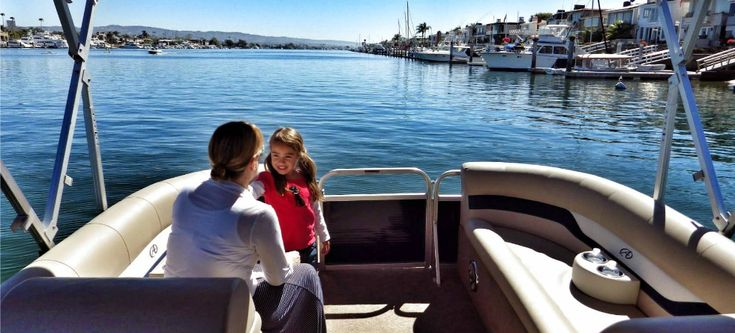 Boat Rentals Newport Beach (949) 264-2628 offering luxury pontoon boat rental, harbor cruises and charter services in the Newport Beach CA area.