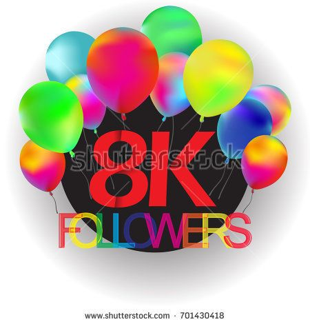 8000 followers with colorfull baloon. Thank you 8000 followers. 8k followers #design #followers #follower #anniversary #art # thanks #thanksfollowers #colorfull #baloon # illustration #color #1k #2k #3k #4k #5k #6k #7k #8k #9k #10k #congratulation #subscribe #subscriber #like #likes #liquid #vector #rural #trending #bacground #icon #drawing