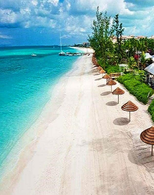 Turks and Caicos Islands lie southeast of Mayaguana in the Bahamas, known for gorgeous coral reefs and azure water