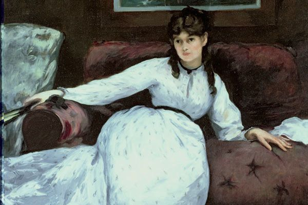 Manet. Repose. 1869-1870. The painter Berthe Morisot