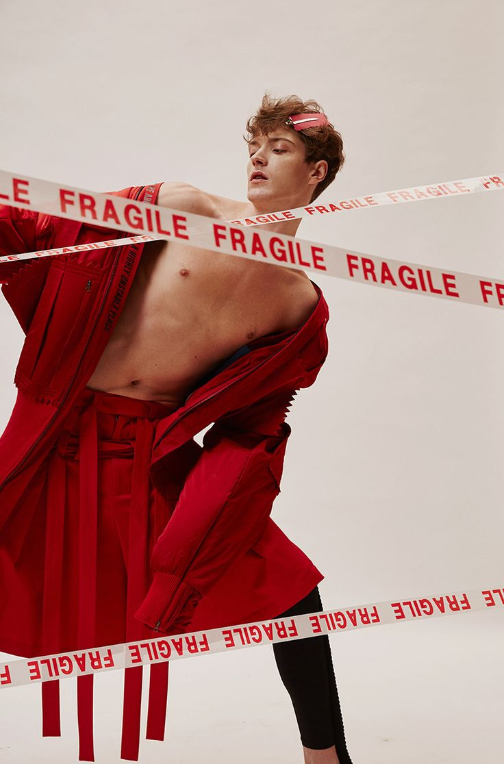 """After his graduation, Shimo Zhou established a menswear brand """"Staffonly"""" with designer Une Yea. Their new collection is called """"I wish I could keep you longer"""". Photos: Zee Hair & Make-up: Jeffrey Model: Quinto"""