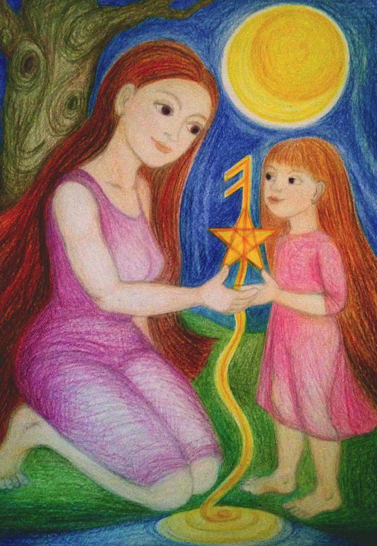 Priestess Mentor by Ivana Axman