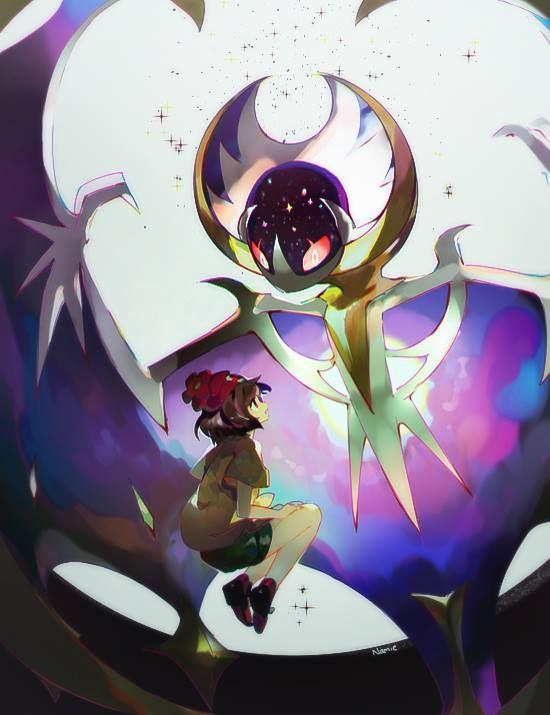 Pokemon Sun and Moon: Trainer & Lunaala