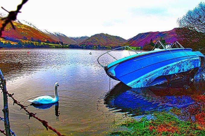 """BoatOnLake"" by Akirungi26! Find more inspiring images at ViewBug - the world's most rewarding photo community. http://www.viewbug.com/photo/60378547"