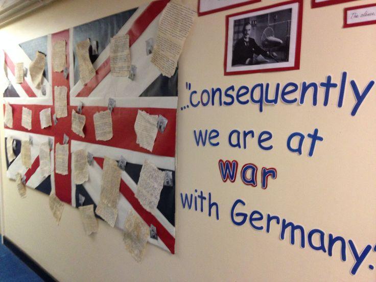 World war 2 display!