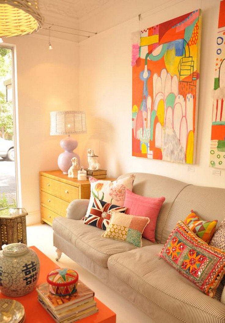 85 Adorable Living Room Pillow Ideas
