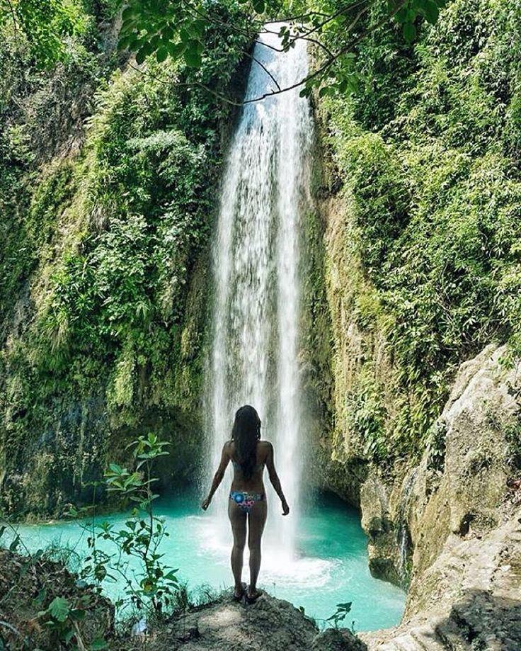 Cebu, Philippines @pinaysginger #cebu #philippines #waterfall #waterfalls