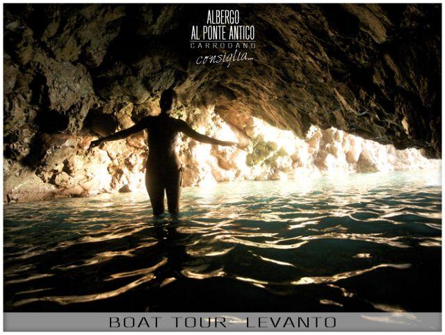 Levanto - Boat Tour - Albergo Al Ponte Antico Carrodano - La Spezia - Liguria