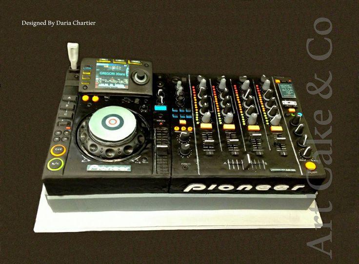 Dj music mixing pionneer