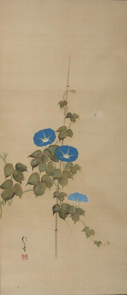 Poppies and Morning Glories 1820s  Sakai Hoitsu  (Japanese , 1761 - 1828)