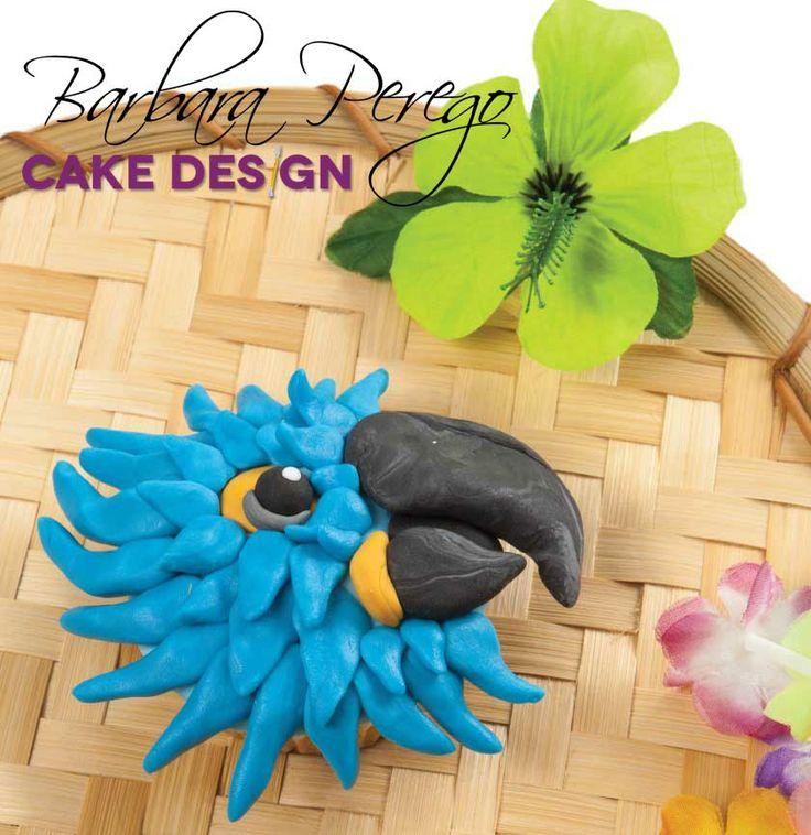 Un pappagallo per un cupcake estivo e divertente!