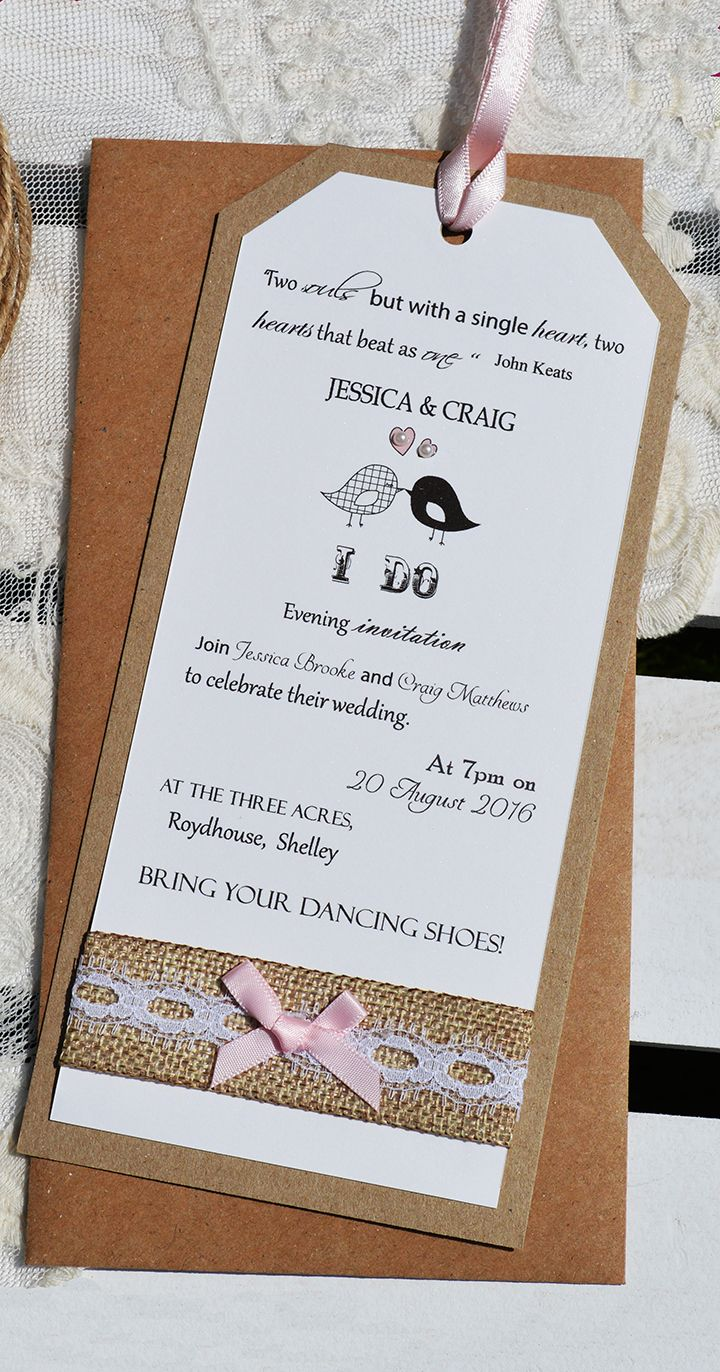 38 best Silver Heart Hand Made Wedding Stationery images on ...