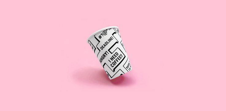 Sanoma Kahvila identity. Design: Kuudes Kerros, Tony Eräpuro