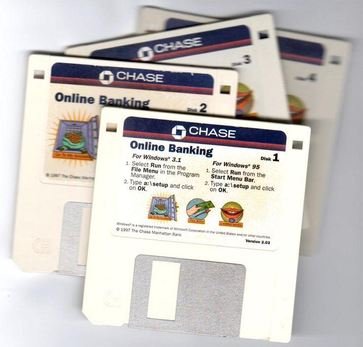 Chase Bank Online circa 1997