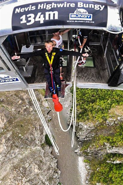 #NevisBungy in #Queenstown #NewZealand  #Adventure #Bungee #Jumping