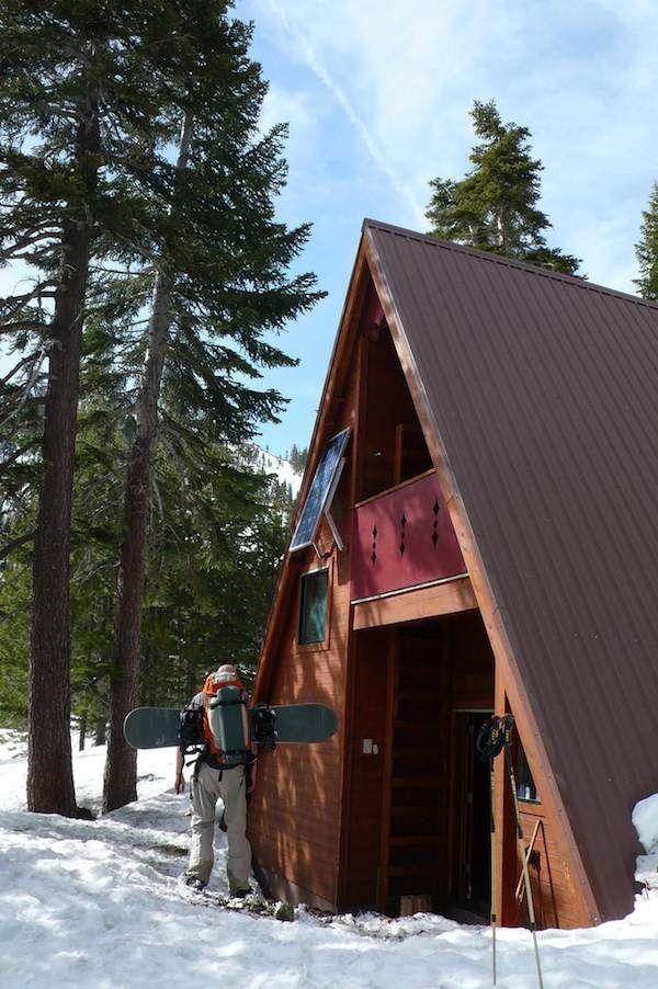 solar powered tiny a frame cabin   Top 6 A Frame Tiny Houses