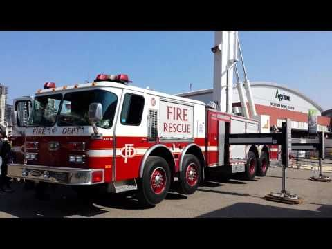 Calgary Fire Department 50 meter Bronto Skylift