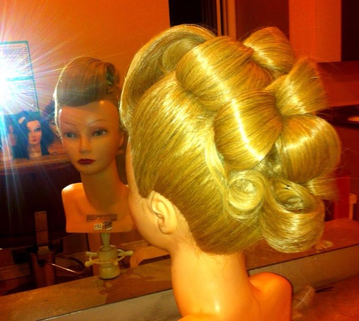 Wild Updo S For Fun At Cosmetology School Hairstyles I