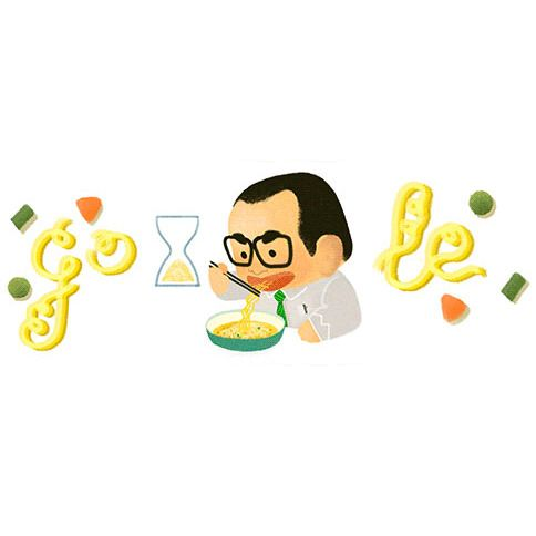 Today's Google Doodle Celebrates the Inventor of Instant Ramen -- Grub Street