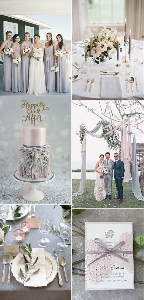 Pastellfarben als Hauptfarbe für Ihre Hochzeit in 2018