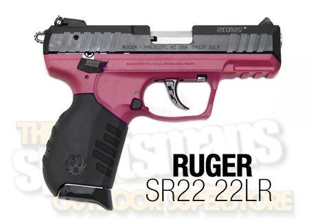 Ruger SR22, available at Sportsman's Outdoor Superstore.