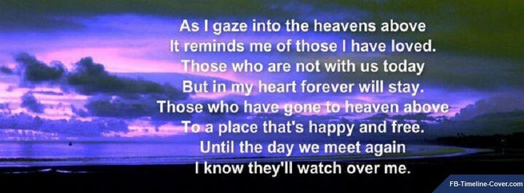 Missing Dad Poems In Heaven | Messages/Sayings : Heaven Sunset Missing Someone Facebook Timeline ...