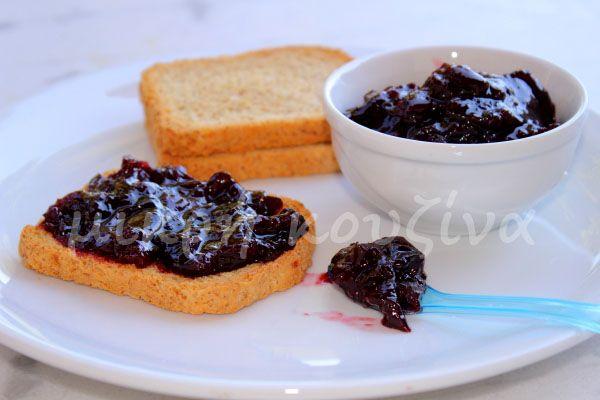 μικρή κουζίνα: Μαρμελάδα κεράσι με φρουκτόζη