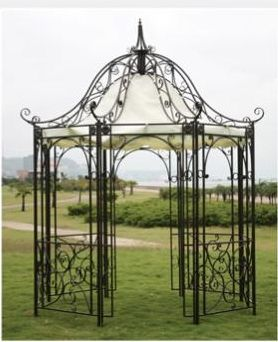 Wrought Iron Gazebos for Sale   ESM Marketing - Product Lines
